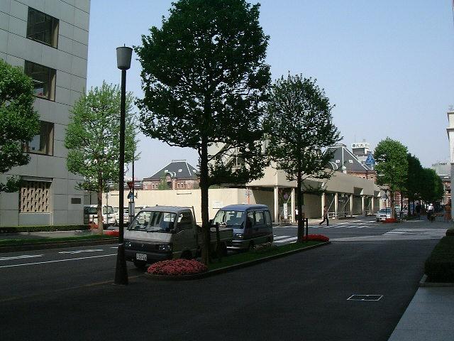 丸ビルのない東京駅